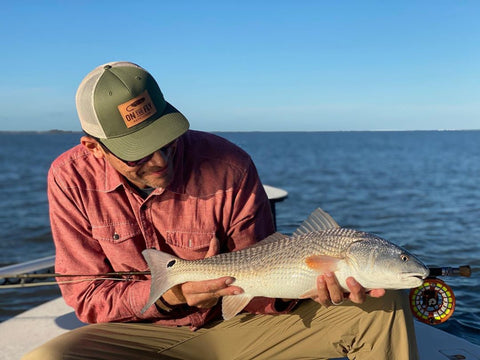 Edgar Diaz catches first East Coast Redfish