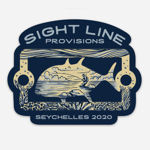 Seychelles 2020 Giant Trevally Artist Edition Decal