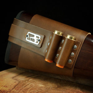 Shotgun Shell Holder - SLP Exclusive Horween Brown