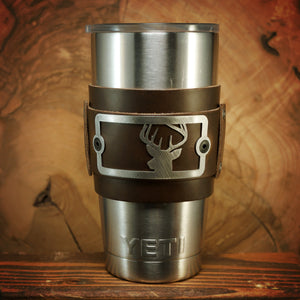 YETI Cuff 20oz- White Tail