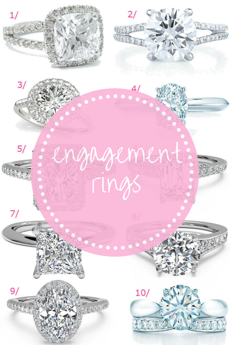 Engagement rings // How to select the perfect diamond ring // Click for details