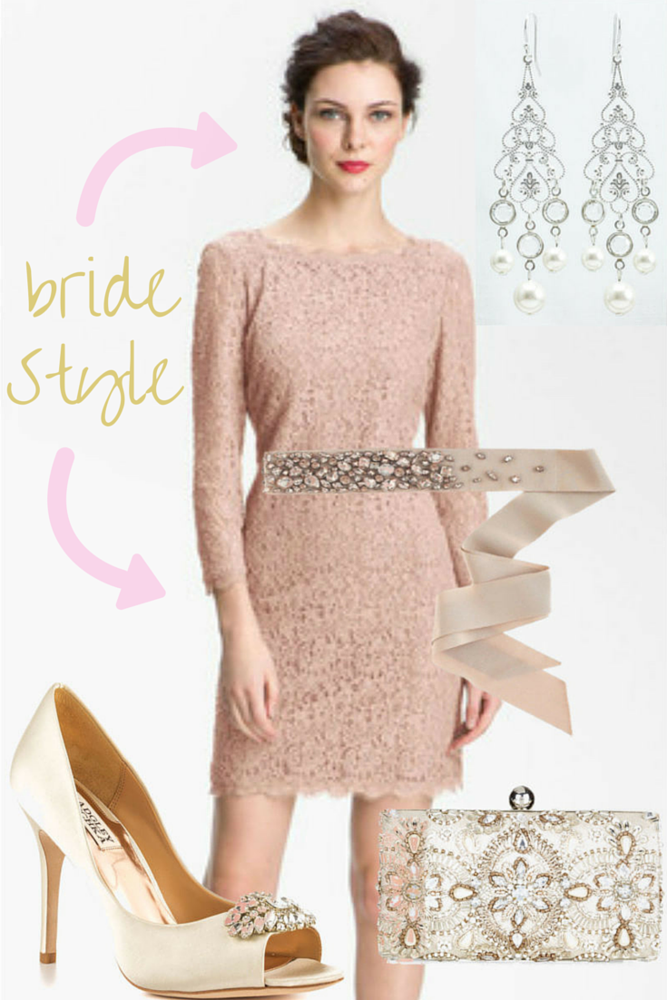 Rehearsal dinner dress / Click for rehearsal dinner bride outfit...
