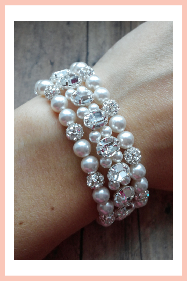 Find out how we designed a custom bracelet for our beautiful bride Melanie...
