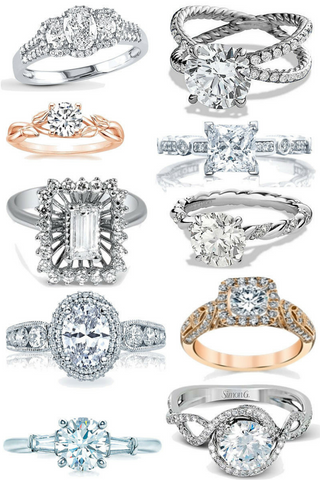 Where to buy a unique engagement rings...
