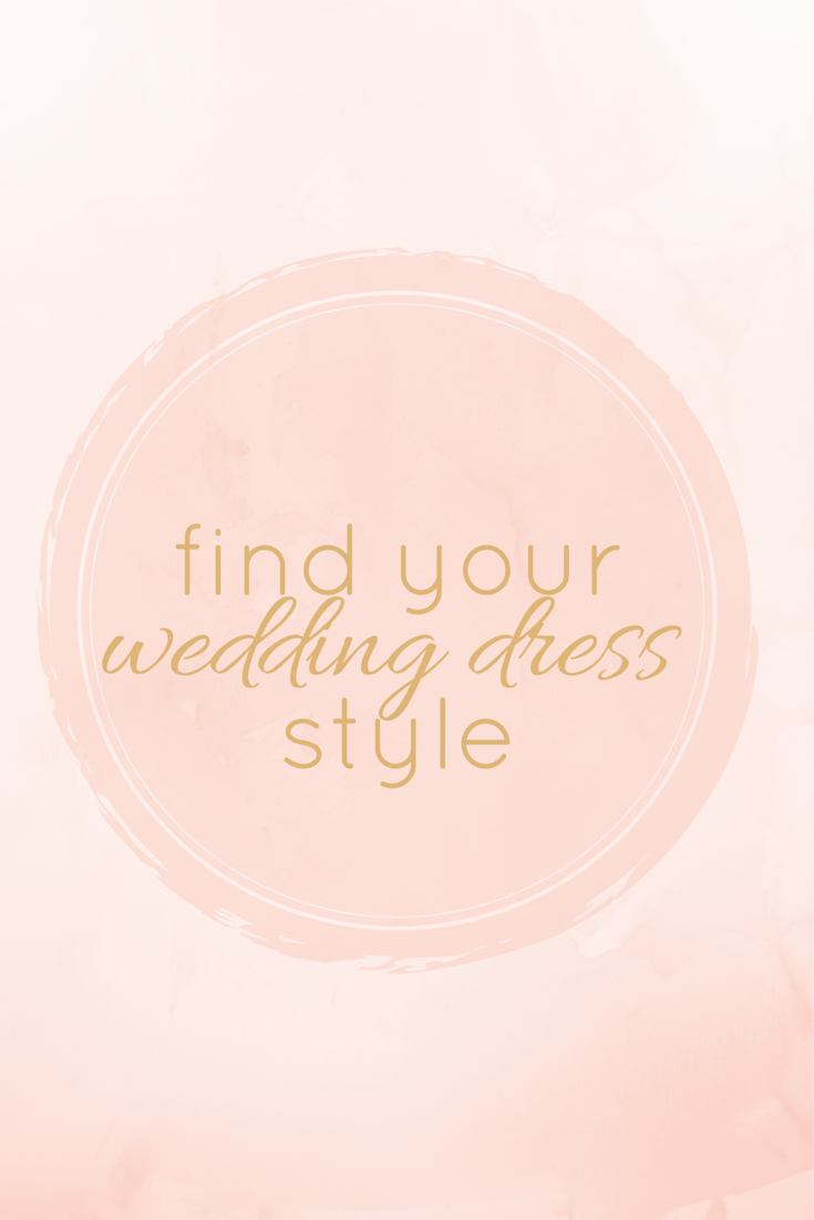 Find your wedding dress style // Click for wedding dress shopping tips...