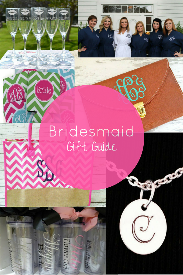 bridesmaid gift list / bridesmaid gift guide / bridesmaid gift ideas / click to shop