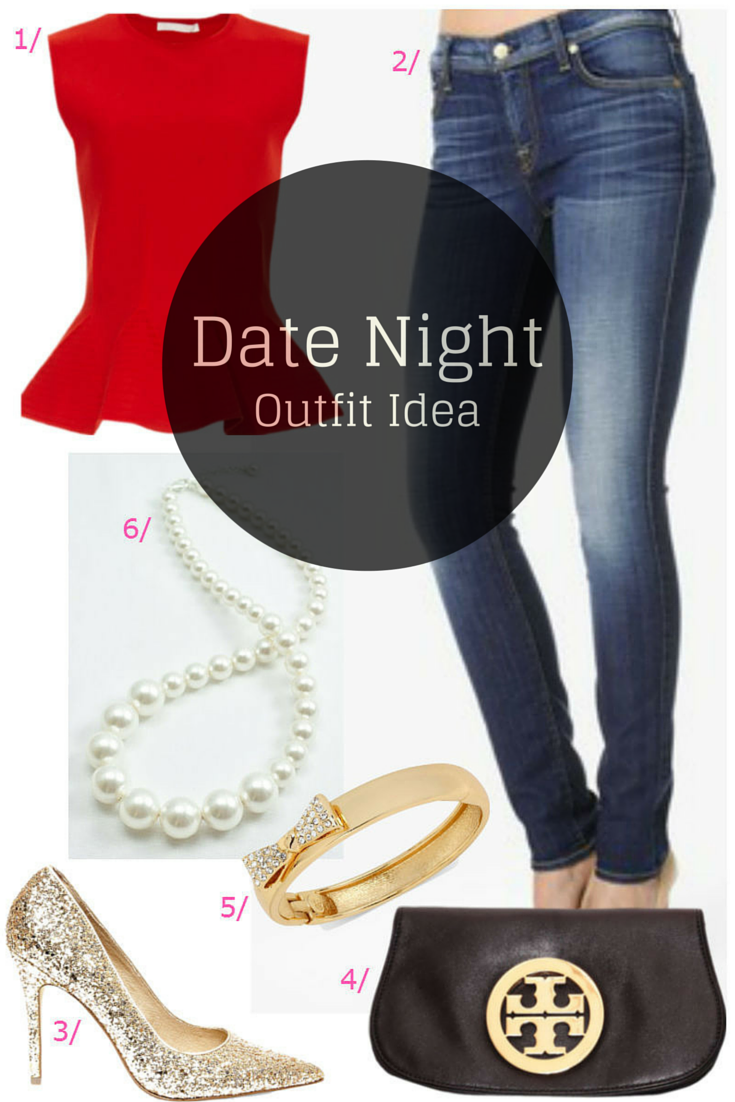 Date Night Style / Valentines Dinner Date Outfit / Date Night Outfit Idea / click for outfit details...