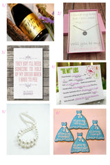 How to ask your bridesmaids // Will you be my bridesmaid // Click for details