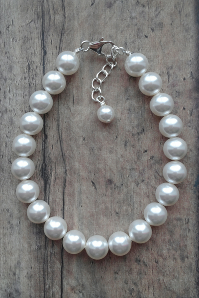Swarovski Pearl Bracelet To Match Bridesmaid Dresses