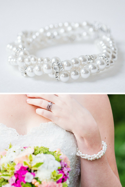 Chunky Pearl Bracelet That Matches Your Wedding Dress