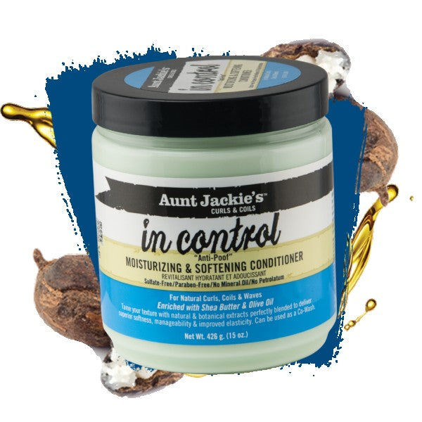 Aunt Jackie's Control Moist & Softening Conditioner 15oz.