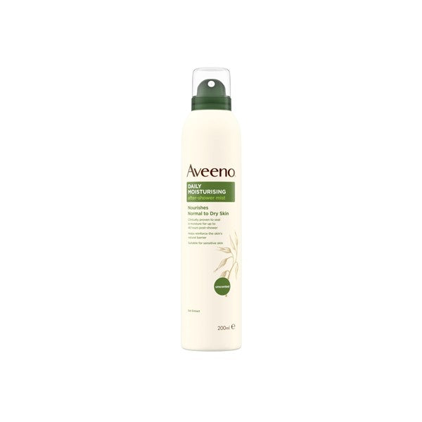Aveeno Active Naturals Daily Moisturising After Shower Mist 200ml.