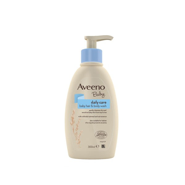 Aveeno Baby Daily Care Hair And Body Wash 300ml.