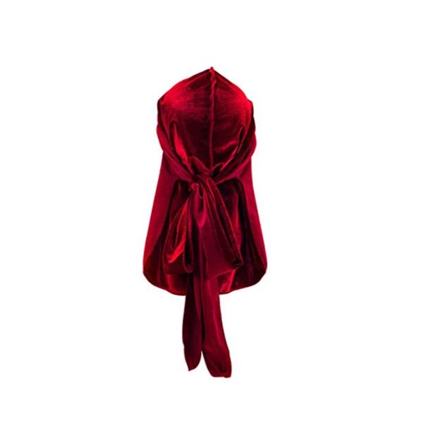 BTB Luxurious velvet Durag red two