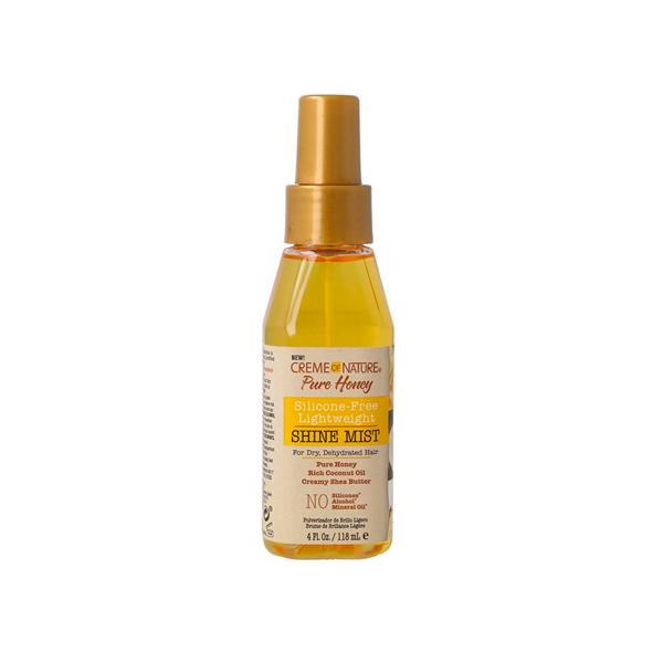 Creme Of Nature Pure Honey Silicone Free Lightweight Shine Mist 118ml.