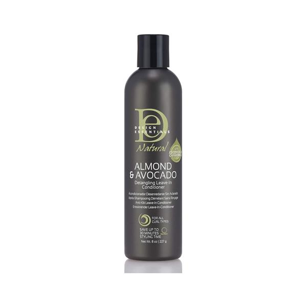 Design Essentials Natural Almond & Avocado Detangling Leave In Conditioner 350g