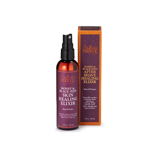 Shea Moisture Honey And Black Seed After Shave Healing Elixir 118ml.