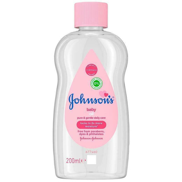 Johnson's Baby Oil - 200ml.