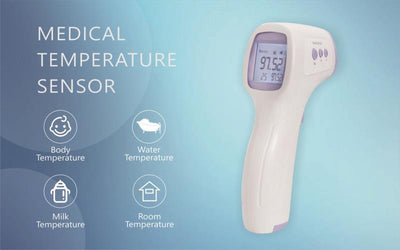 (Wholesale & Bulk Order) Non-contact Forehead IR Thermometer Gun