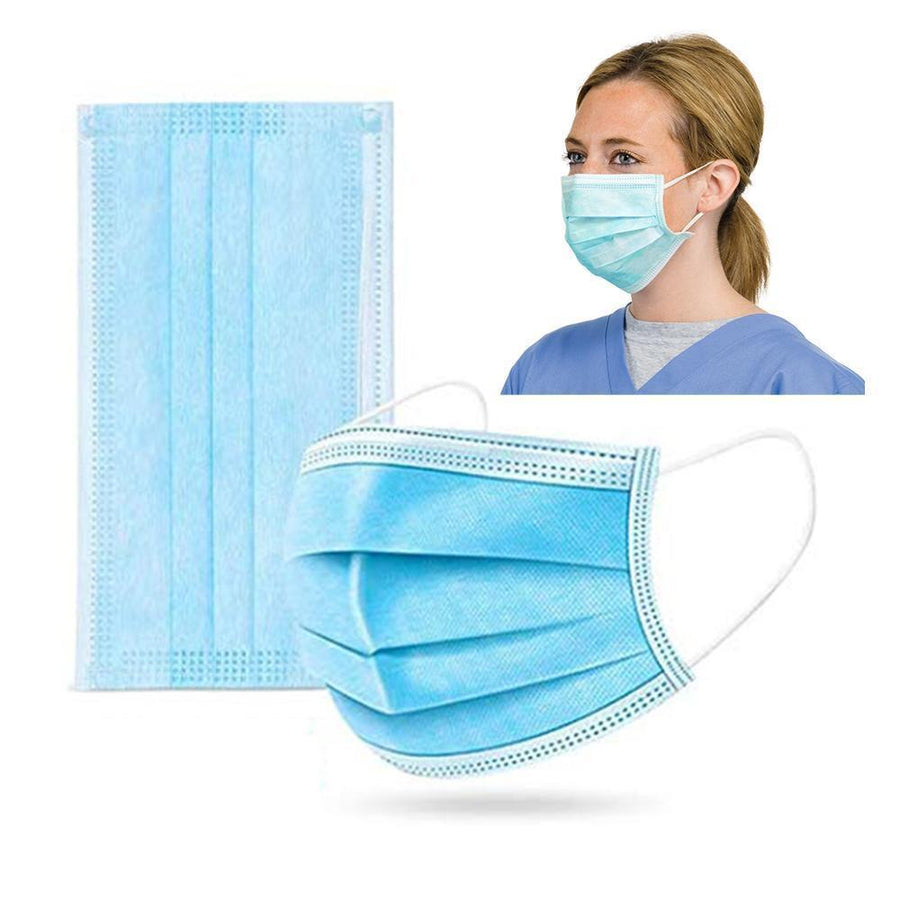 3 Ply Disposable Earloop Face Cover (50PK - Same Day USA Shipping)