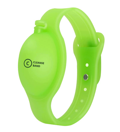 CleanseBand Refillable Sanitizer Bracelet - Sanitize on the Go