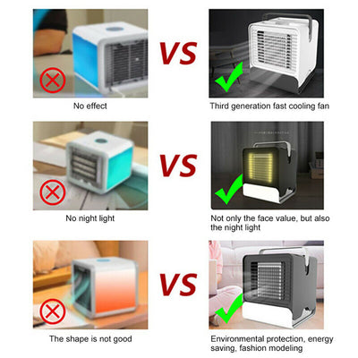 USB Mini Portable Air Conditioner (Ship from US)