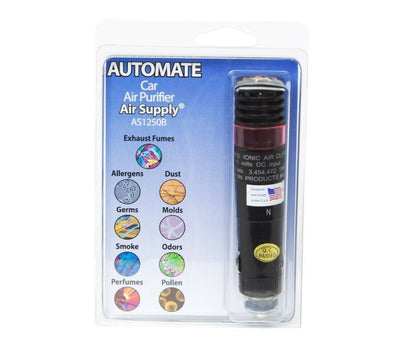 Auto-mate™ On-the-Road Car Plug-in Air Purifier