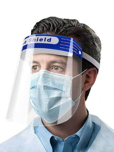 Safety Face Shield, CE Certified (Same day shipping - made in US)