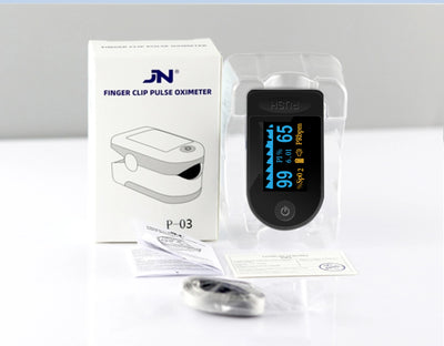 JN® Fingertip Pulse Oximeter | Oxygen Saturation Monitor | Pulse and Blood Pressure Meter