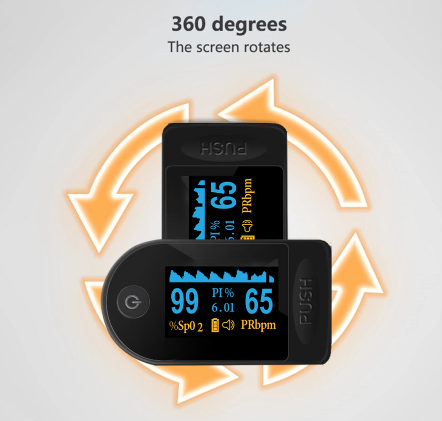 JN® Fingertip Pulse Oximeter