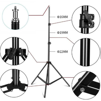 Wall-mounted Thermometer Bracket/Tripod with Adjustable Height