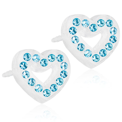 MP BRILLIANCE HEART HOLLOW 10 MM, AQUAMARINE