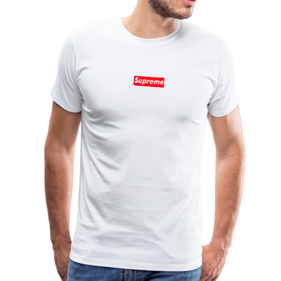 Supreme Men's Premium T-Shirt - white