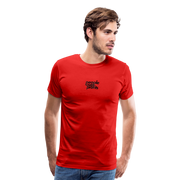 People Over Profits Men's Premium T-Shirt - red