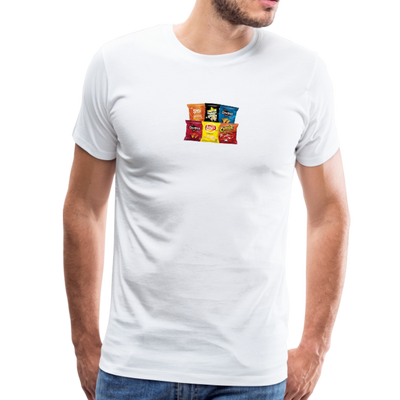 Men's Snack Premium T-Shirt - white