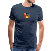 Men's Snack Premium T-Shirt - navy