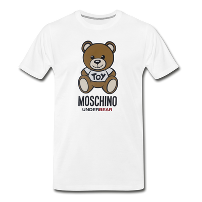 MOSCHINO Men's Premium T-Shirt - white