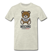 MOSCHINO Men's Premium T-Shirt - heather oatmeal