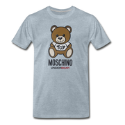 MOSCHINO Men's Premium T-Shirt - heather ice blue