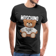 MOSCHINO This Is Not A Moschino Toy Men's Premium T-Shirt - black