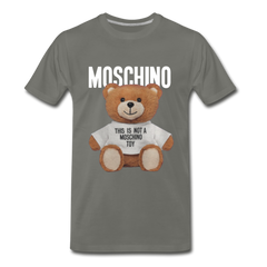 MOSCHINO This Is Not A Moschino Toy Men's Premium T-Shirt - asphalt gray