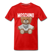 MOSCHINO This Is Not A Moschino Toy Men's Premium T-Shirt - red