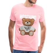 MOSCHINO This Is Not A Moschino Toy Men's Premium T-Shirt - pink