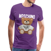MOSCHINO This Is Not A Moschino Toy Men's Premium T-Shirt - purple