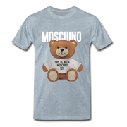 MOSCHINO This Is Not A Moschino Toy Men's Premium T-Shirt - heather ice blue