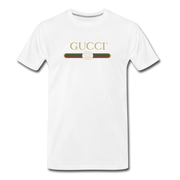 G Men's Premium T-Shirt - white