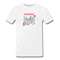 Vending King Men's Premium T-Shirt - white