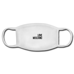 Love Moschino Face Mask - white/white