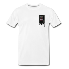 Vending Business Drip Men's Premium T-Shirt - white