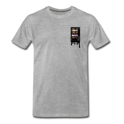 Vending Business Drip Men's Premium T-Shirt - heather gray